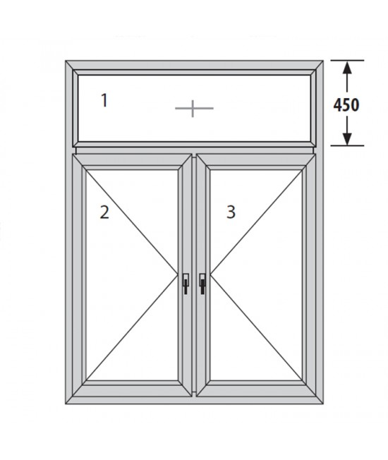 PVC ПРОЗОРЕЦ TROCAL ECONOMY – 70mm