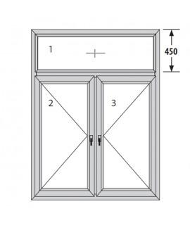 PVC ПРОЗОРЕЦ TROCAL CLASSIC - 76mm